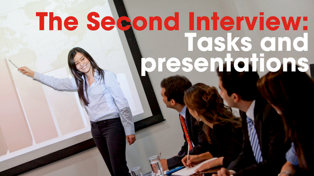 The Second Interview: Tasks and presentations