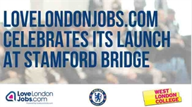 New talent platform, LoveLondonJobs.com, celebrates its launch at Stamford Bridge