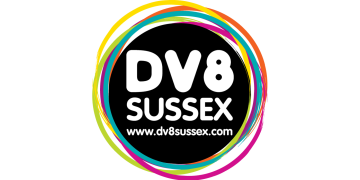 Dv8 Sussex logo