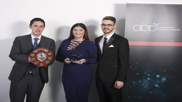 Apprentice honoured by business award