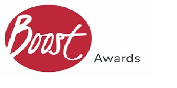 Boost Awards logo