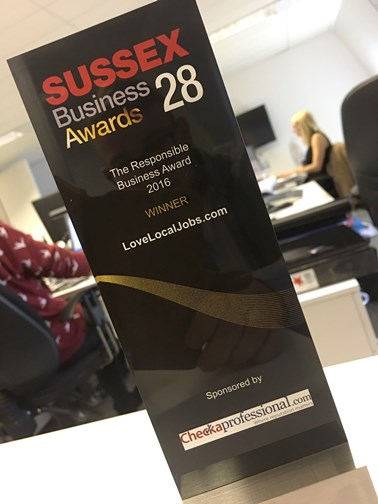 Sussex Business Awards 2016